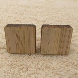Simple Minimalistic Square Cuff Links